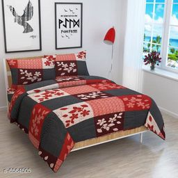 Latest 3D Printed 90 X 90 Double Bedsheets