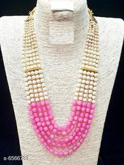 Trendy Bead Work Necklaces & Chains