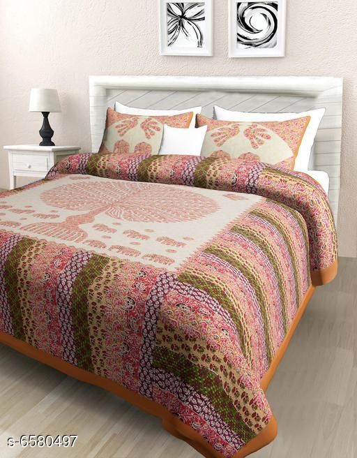 Classy Comfy 100 X 90 Double Bedsheet