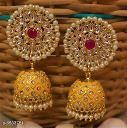 Tredny Meenakari & Kundan Earrings