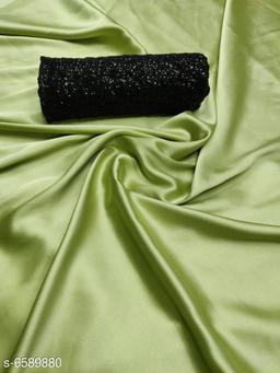 Win Fashion Satin Fancy Sarees