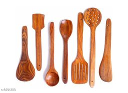 Elegant Wooden Spoon Set