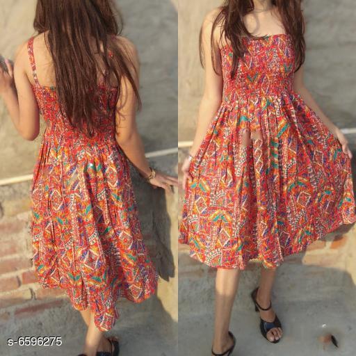 Classy Women's Cotton Dress