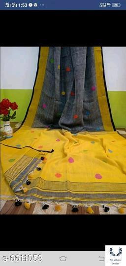 Khadi cotton handloom saree