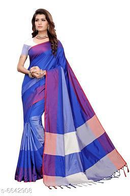 Aasmaa Elegant Attractive Cotton Silk Saree