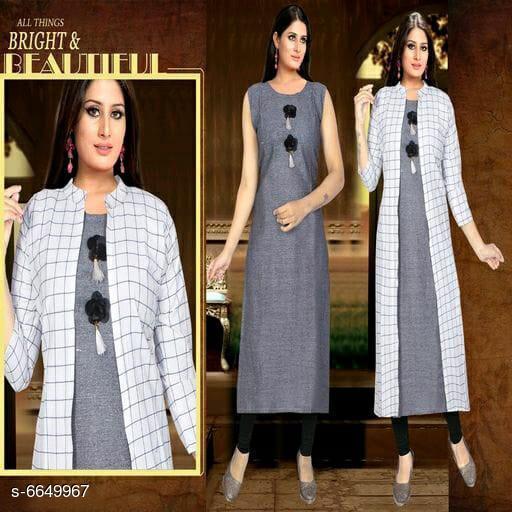 Women's Printed Jacket Dress Cotton Blend Dress