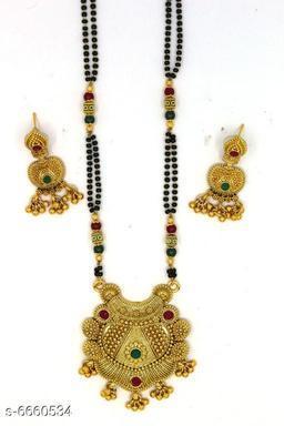 Attractive Brass Mangalsutras