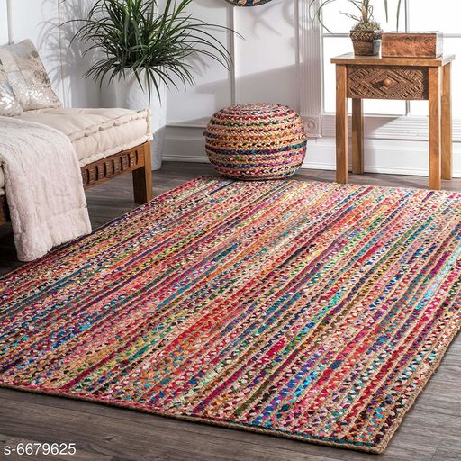 Medium Weight Carpets Elite Classy Carpet  *Material* Cotton Jute  *Pattern* Solid  *Multipack* 1  *Sizes*   *Free Size (Length Size* 6 ft , Width Size  *Sizes Available* Free Size *    Catalog Name: Elite Classy Carpets CatalogID_1064884 C55-SC1723 Code: 4471-6679625-