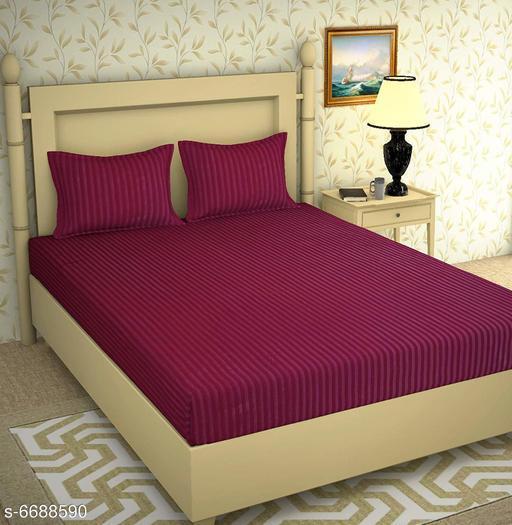 Stylish Embossed Microfiber 100 x 90 Double Bedsheets