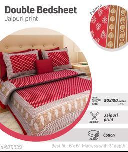 Elite Cotton Double Bedsheets