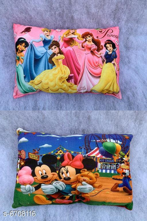 Elegant Fancy Kids Pillows(Pack Of 2)