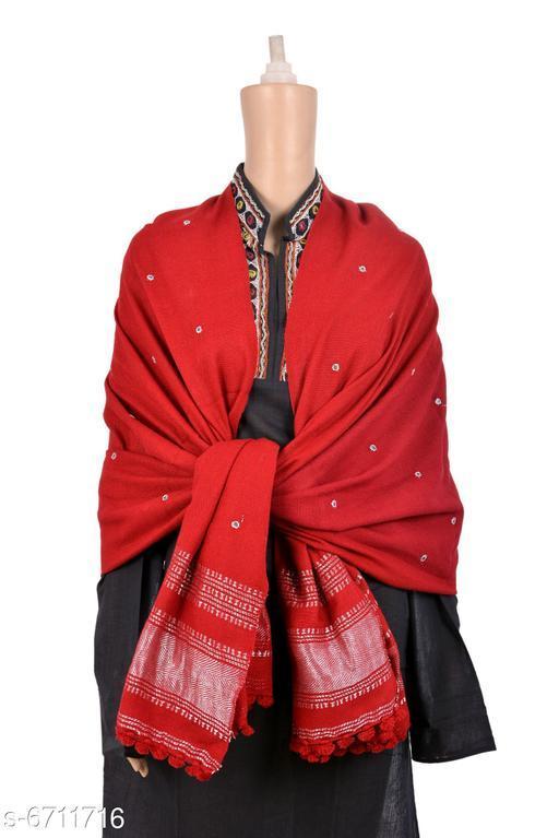 Prijam Hand Made Kutchi Wool Shawl