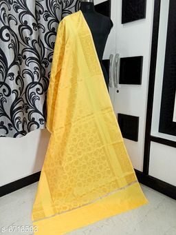 Banarasi cotton silk dupatta