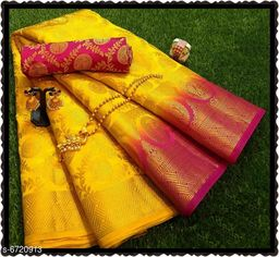 Rich Contrast Chith SAREE