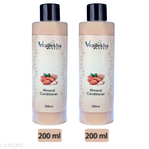 Hair Care Vrajlekha Herbal Almond Conditioner  *Product Name* Vrajlekha Herbal Almond Conditioner  *Hair Type* All Hair Type  *Multipack* 2  *Sizes Available* Free Size *    Catalog Name:  Advanced Ultra Conditioner CatalogID_1071729 C50-SC1249 Code: 044-6722768-