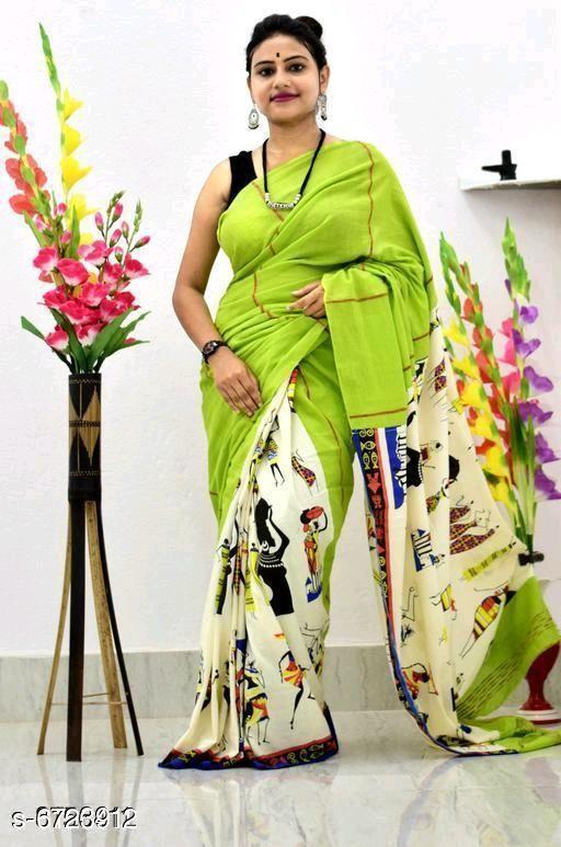 Awesome Women's Soft Cotton Saree