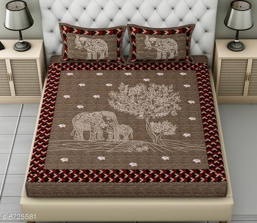 Classy Comfy Cotton  Bedsheet 100x100