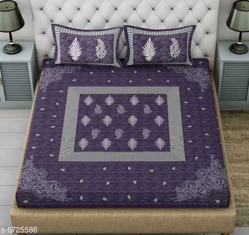 Classy Comfy Cotton  Bedsheet 100 in X 100 in