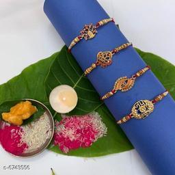Twinkling Rakhi Combo