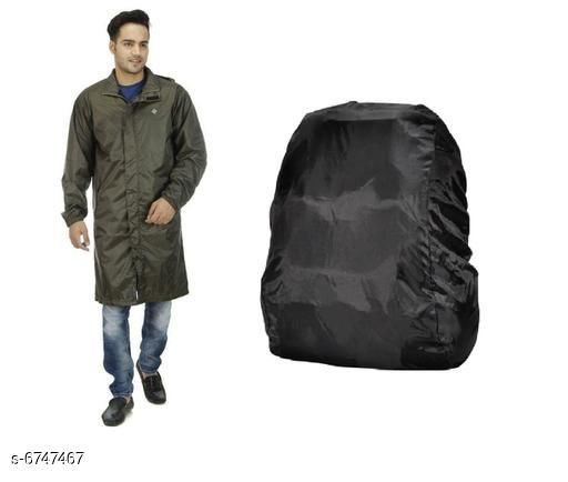 Casual Rain Coat & Backpack Covers