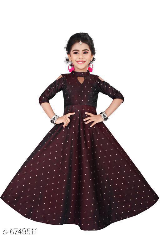 Trendy Women's Anarkali Dress  Gown