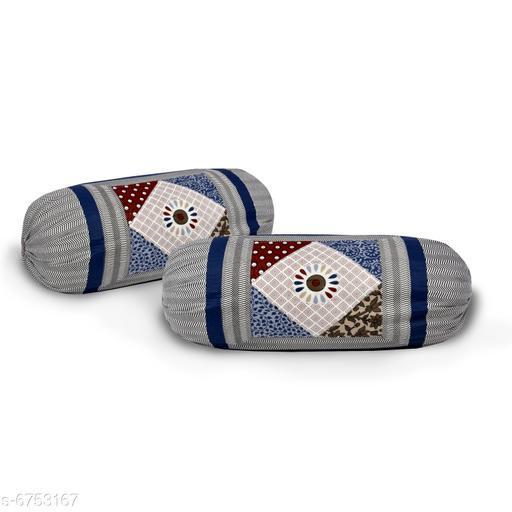 Cotton foam jaipuri print Bolsters covers pack of 2