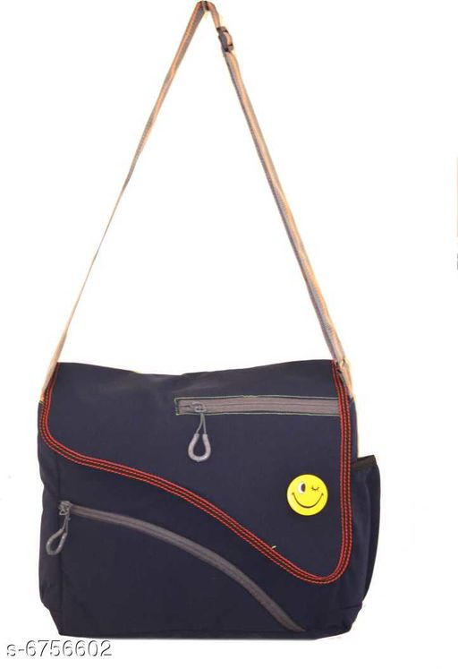 Messenger Bags Design polyester sling bag  *Material* Polyester  *Multipack* 1  *Sizes* Free Size (Length Size  *Sizes Available* Free Size *    Catalog Name: Elegant Attractive Women Slingbags CatalogID_1077460 C73-SC1079 Code: 446-6756602-
