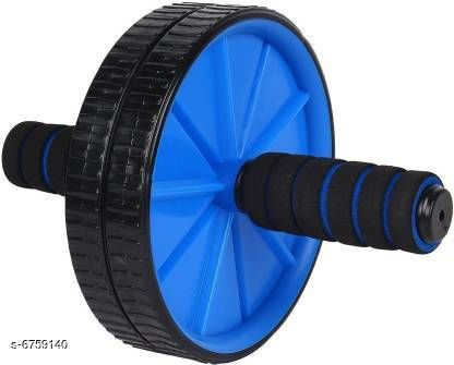 Fitness Equipment Stylish Fitness Equipment  *Product Name* Stylish Fitness Equipment  *Type* Double Wheel Roller  *Material* Plastic  *Multipack* Pack of 1  *Sizes Available* Free Size *   Catalog Rating: ★3.9 (9)  Catalog Name: Stylish Fitness Equipment CatalogID_1077858 C125-SC1392 Code: 082-6759140-