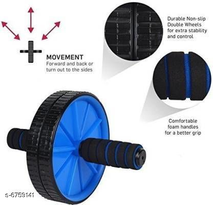 Fitness Equipment Stylish Fitness Equipment  *Product Name* Stylish Fitness Equipment  *Type* Double Wheel Roller  *Material* Plastic  *Multipack* Pack of 1  *Sizes Available* Free Size *   Catalog Rating: ★3.9 (9)  Catalog Name: Stylish Fitness Equipment CatalogID_1077858 C125-SC1392 Code: 162-6759141-
