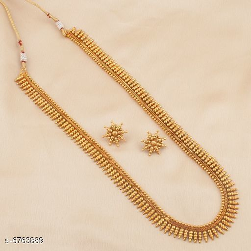 Stylish Gold Plated Jewellery Sets For Women