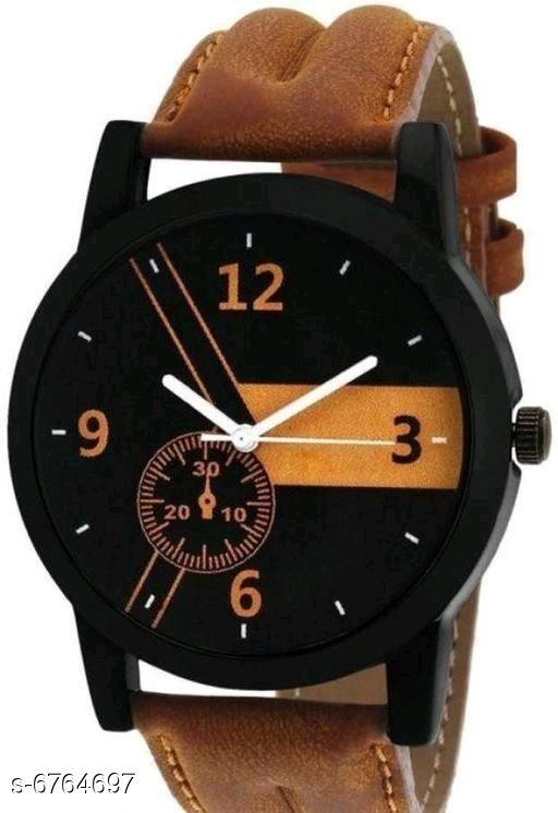 Watches  Attractive Synthetic Men's Watches Strap Material: Synthetic Display Type: Analogue Size: Free Size Multipack: 1 Sizes Available: Free Size    Catalog Name: Stylish Men Watches CatalogID_1078801 C65-SC1232 Code: 603-6764697-