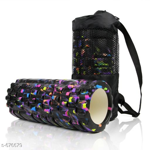 Sports Accessories Classic Sports Accessories  *Material* Plastic  *Description* It Has 1 Piece Of Yoga roller  *Sizes Available* Free Size *    Catalog Name: Men's Classy Sports Accessories Vol 1 CatalogID_76769 C81-SC1287 Code: 066-676679-