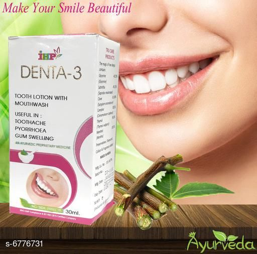 DENTA 3 TOOTH PASTE WITH MOUTHWASH