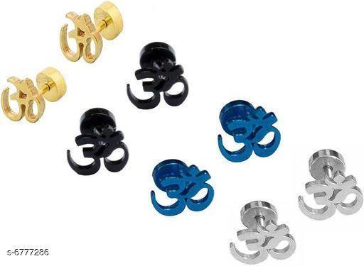 Trendy Men's Earrings
