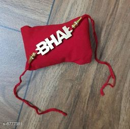 Partywear Thread  Rakhi Set