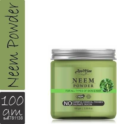Hair Care AroMine Neem Leaf Powder For Face & Hair Pack (100 g)  *Product Name* AroMine Neem Leaf Powder For Face & Hair Pack (100 g)  *Multipack* 1  *Capacity* 100 gm  *Sizes Available* Free Size *    Catalog Name:  Advanced Soothing Hair Cream & Masks CatalogID_1081630 C50-SC1249 Code: 961-6781138-