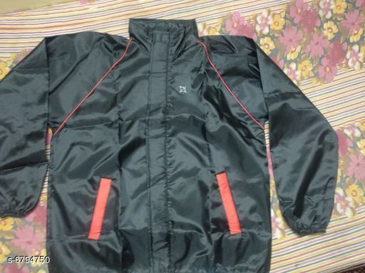 Raincoat Trendy Rain Coats  *Material* Polyester  *Type* Stitched  *Sleeves* Long Sleeves  *Pattern* Solid  *Age* All Ages  *Multi Pack* 1  *Size* L (Bust Size  *XL (Bust Size* 42 in, Length Size  *Sizes Available* L, XL *   Catalog Rating: ★3.6 (21)  Catalog Name: Comfy Polyester Rain Coats CatalogID_1084153 C70-SC1468 Code: 804-6794750-
