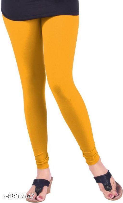 Leggings Elegant Trendy Women Leggings   *Fabric* Cotton  *Pattern* Solid  *Multipack* 1  *Sizes*   *36 (Waist Size* 36 in, Length Size  *34 (Waist Size* 36 in, Length Size  *Sizes Available* 34, 36 *    Catalog Name: Elegant Trendy Women Leggings  CatalogID_1085749 Code: 112-6803947-