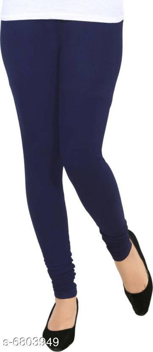 Leggings Elegant Trendy Women Leggings   *Fabric* Cotton  *Pattern* Solid  *Multipack* 1  *Sizes*   *36 (Waist Size* 36 in, Length Size  *34 (Waist Size* 36 in, Length Size  *Sizes Available* 34, 36 *    Catalog Name: Elegant Trendy Women Leggings  CatalogID_1085749 Code: 112-6803949-