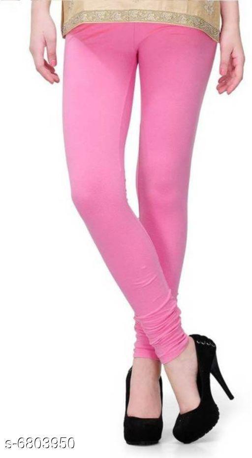 Leggings Elegant Trendy Women Leggings   *Fabric* Cotton  *Pattern* Solid  *Multipack* 1  *Sizes*   *36 (Waist Size* 36 in, Length Size  *34 (Waist Size* 36 in, Length Size  *Sizes Available* 34, 36 *    Catalog Name: Elegant Trendy Women Leggings  CatalogID_1085749 Code: 112-6803950-