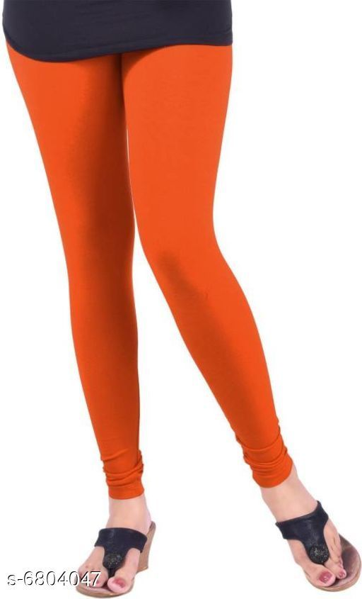 Leggings Elegant Trendy Women Leggings   *Fabric* Cotton  *Pattern* Solid  *Multipack* 1  *Sizes*   *34 (Waist Size* 34 in, Length Size  *36 (Waist Size* 36 in, Length Size  *Sizes Available* 34, 36 *    Catalog Name: Elegant Trendy Women Leggings  CatalogID_1085764 Code: 112-6804047-