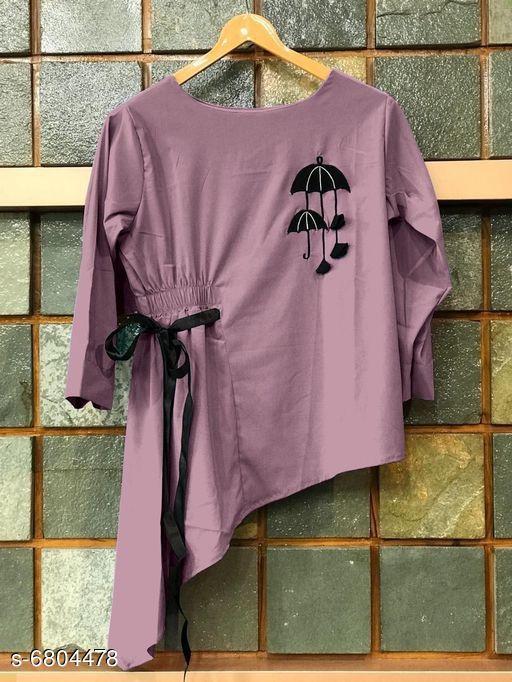 Women's Embroidered Dark Multicolour Rayon Top