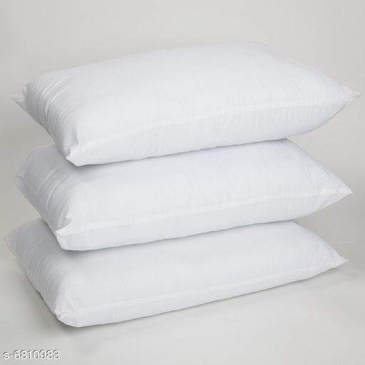 Pillows Voguish Fashionable Pillows  *Pillow Fabric* Polyester  *Type* Pillow  *Multipack* 3  *Sizes*  41x60  *Sizes Available* Free Size *    Catalog Name: Graceful Alluring Pillows CatalogID_1086971 C53-SC1105 Code: 8331-6810983-