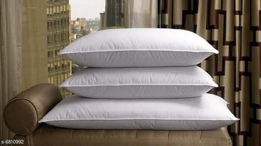 Pillows Voguish Fashionable Pillows  *Pillow Fabric* Polyester  *Type* Pillow  *Multipack* 3  *Sizes*  43x60  *Sizes Available* Free Size *    Catalog Name: Graceful Alluring Pillows CatalogID_1086971 C53-SC1105 Code: 8331-6810992-