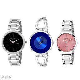 Stylish Women's Watch (Set Of 3)