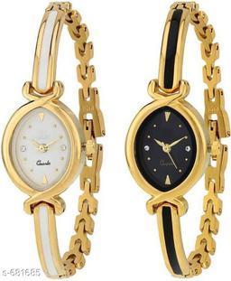 Stylish Women's Watches(Set Of 2)