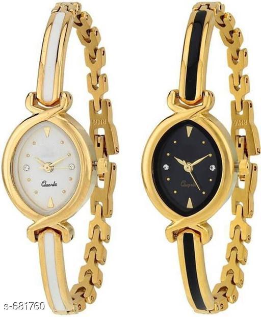 Stylish Women's Watches (Set Of 2)