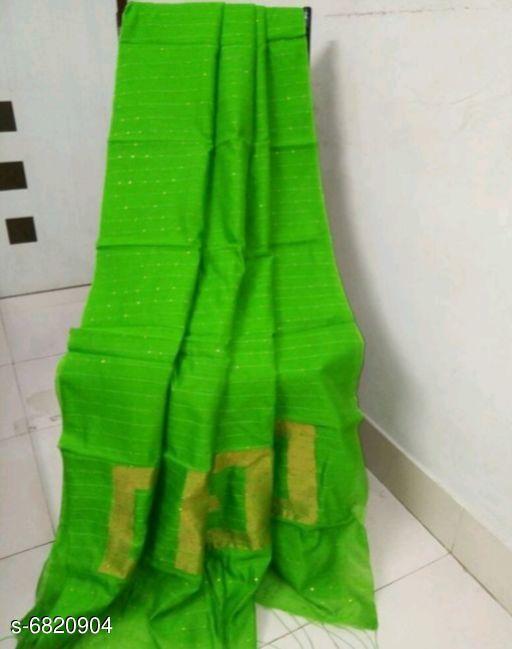 Jia Printed Cotton Silk Sarees