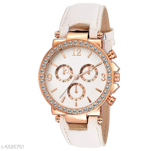 831 NEW ARRIVAL FANCY ANALOG WATCH FOR GIRLS AND WOMEN