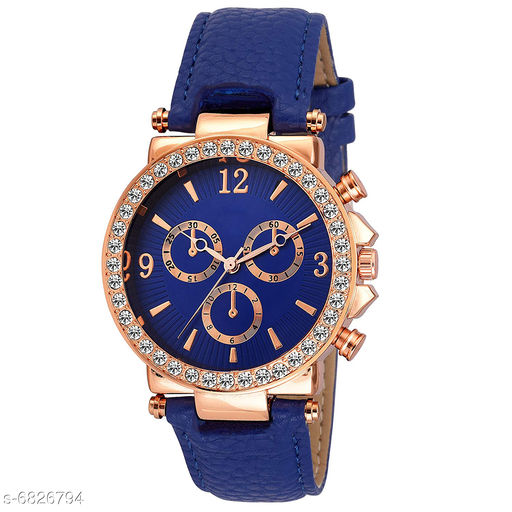 833 NEW ARRIVAL FANCY ANALOG WATCH FOR GIRLS AND WOMEN